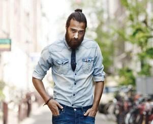 Hombres con estilo. El hombre ha dejado de ser más bello cuanto más oso