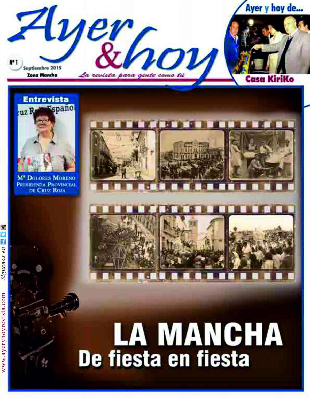 Revista de Septiembre 2015 – Zona Mancha
