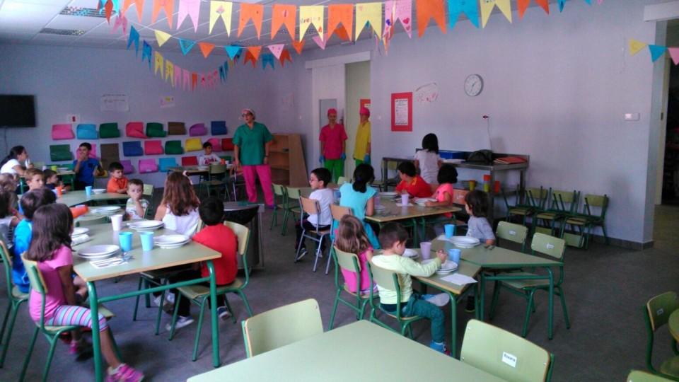 El comedor escolar municipal est siendo clave para for El comedor escolar
