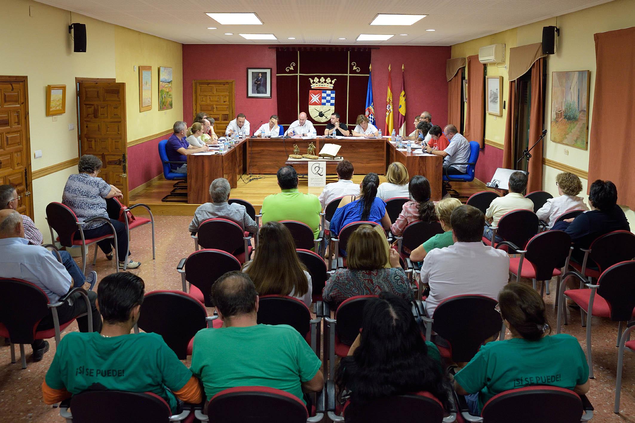 El Pleno de Argamasilla de Alba aprueba la creación de la Oficina de Intermediación Hipotecaria