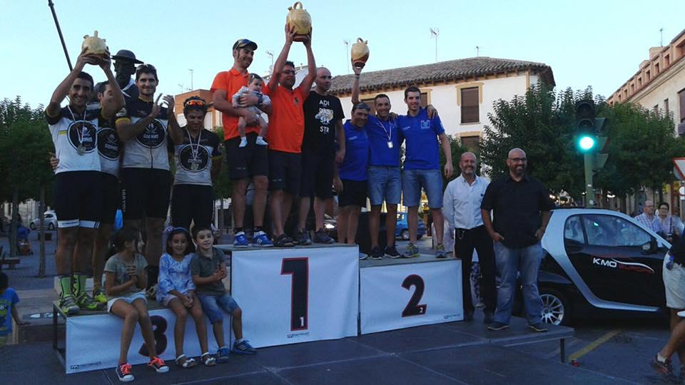 225 ciclistas participaron en la Titán de la Mancha 2015