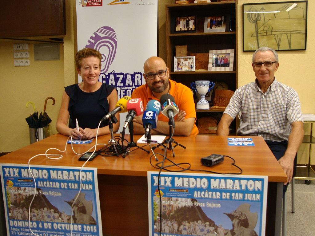 Presentada la XIX Media Maratón que organiza el Club Altamira con el ayuntamiento