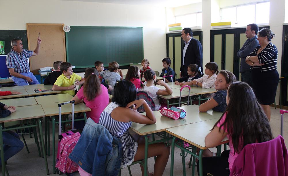 Cerca de 1.300 alumnos de Infantil y Primaria regresan con normalidad a las aulas en los colegios criptanenses