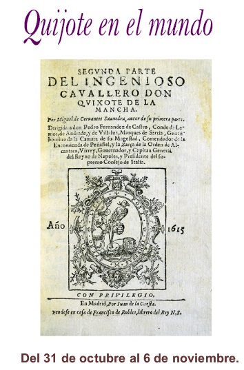 El Quijote en Herencia, el Quijote en el Mundo