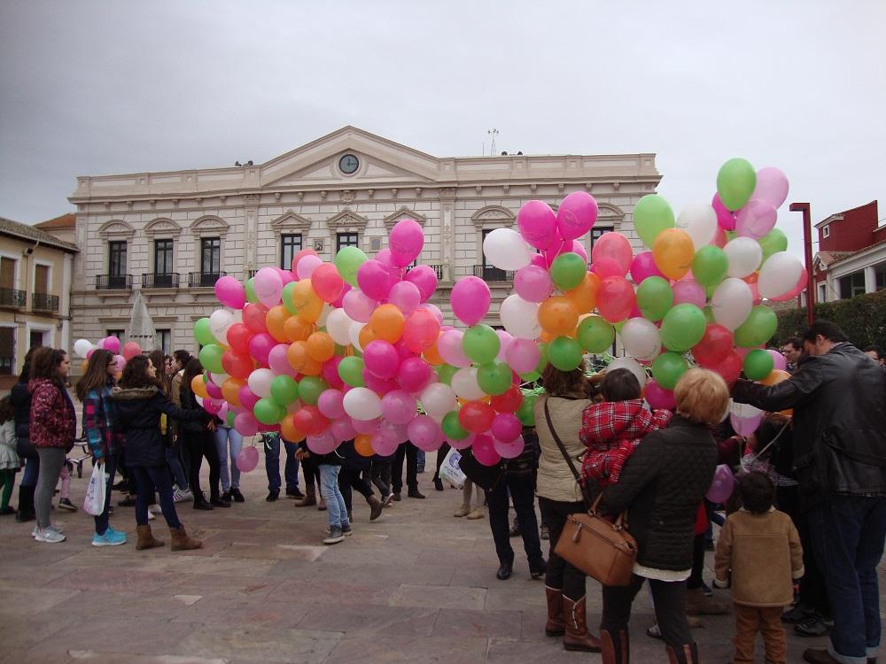 Afanion conmemora en Alcázar el día internacional de los niños con cáncer