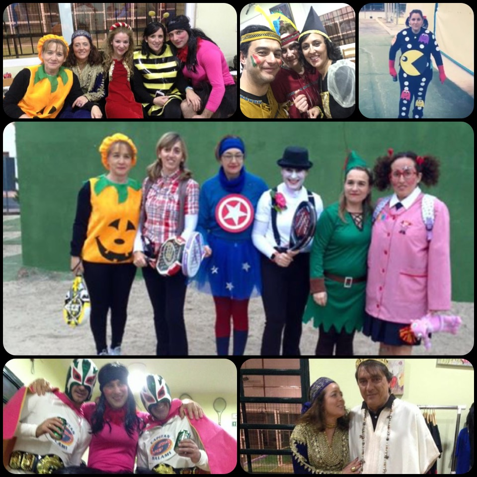 El Carnaval también llegó al Club de Tenis y Pádel Poblete