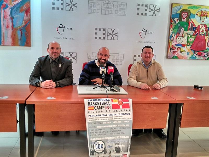 El I Bilingual Basketball Camp Ciudad de Alcázar se celebrará en Semana Santa