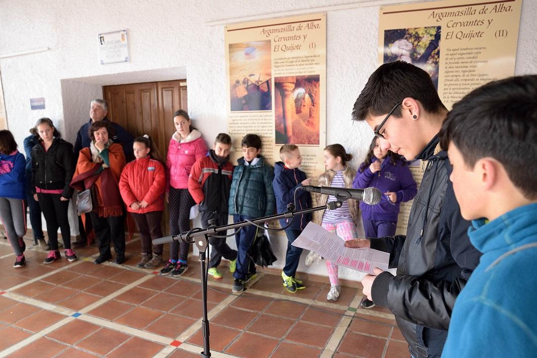 Homenaje a Cervantes con la lectura de los sonetos y epitafios de los Académicos de la Argamasilla