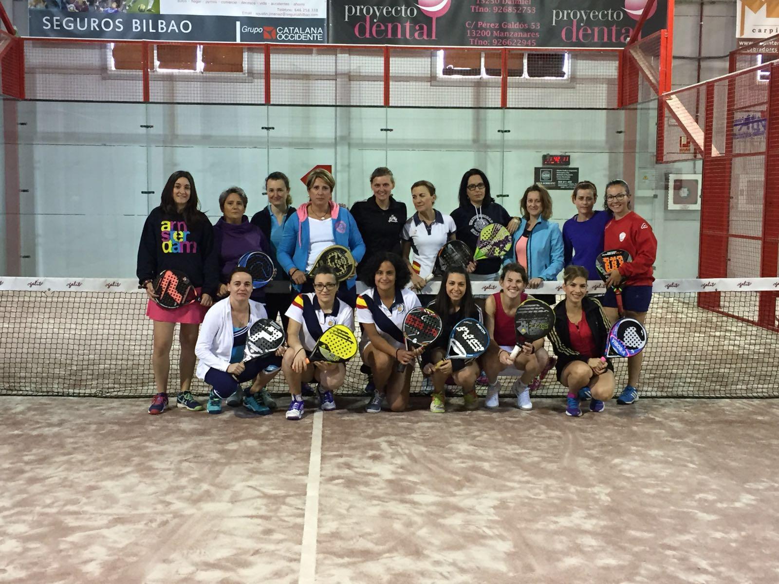 Americano y convivencia en el Club de Padel Membrilla-Manzanares