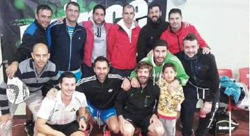 Competiciones amistosas, con los clubs provinciales, en Las Bibiertas