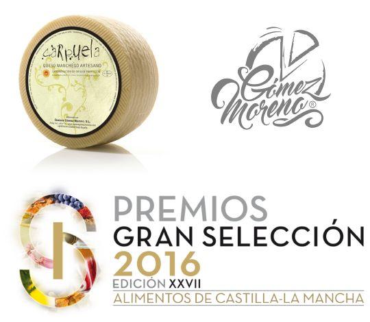 Quesos Gómez Moreno galardonada en los Premios Gran Selección