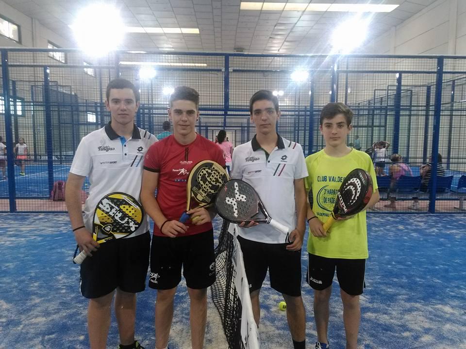 Padel Tinajas estuvo presente en el Torneo provincial de Illescas
