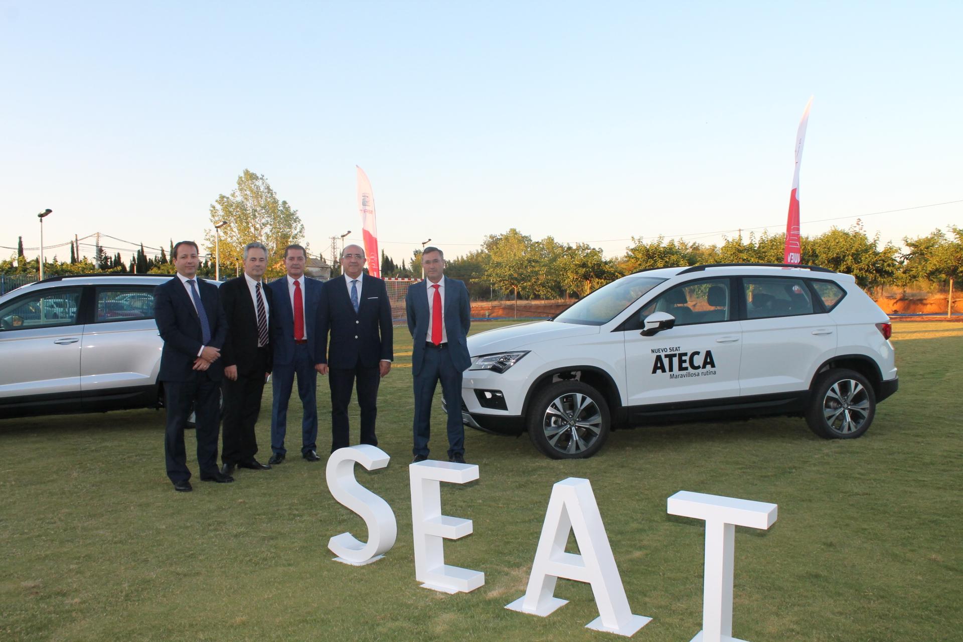 Comatur presentó el Nuevo SEAT Ateca