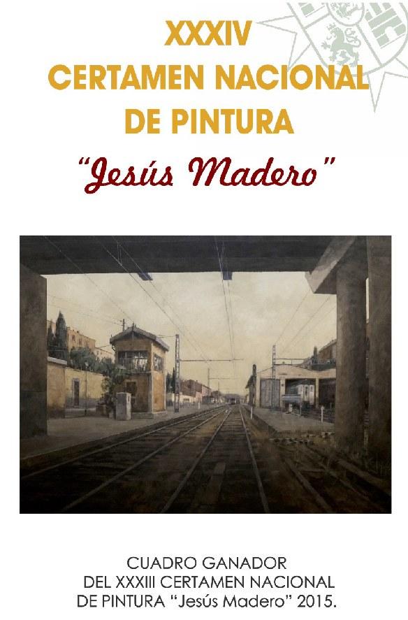 """El Ayuntamiento convoca el XXXIV Certamen Nacional de pintura """" Jesús Madero """""""