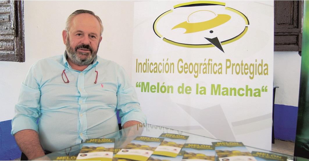 Ramón Lara. Presidente de la Indicación Geográfica Protegida 'Melón de la Mancha'