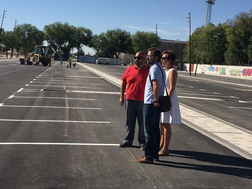 Casetas de bares, zoco artesano y 'Plaza Joven' se integrarán en la feria aprovechando los nuevos aparcamientos del recinto ferial de Alcázar