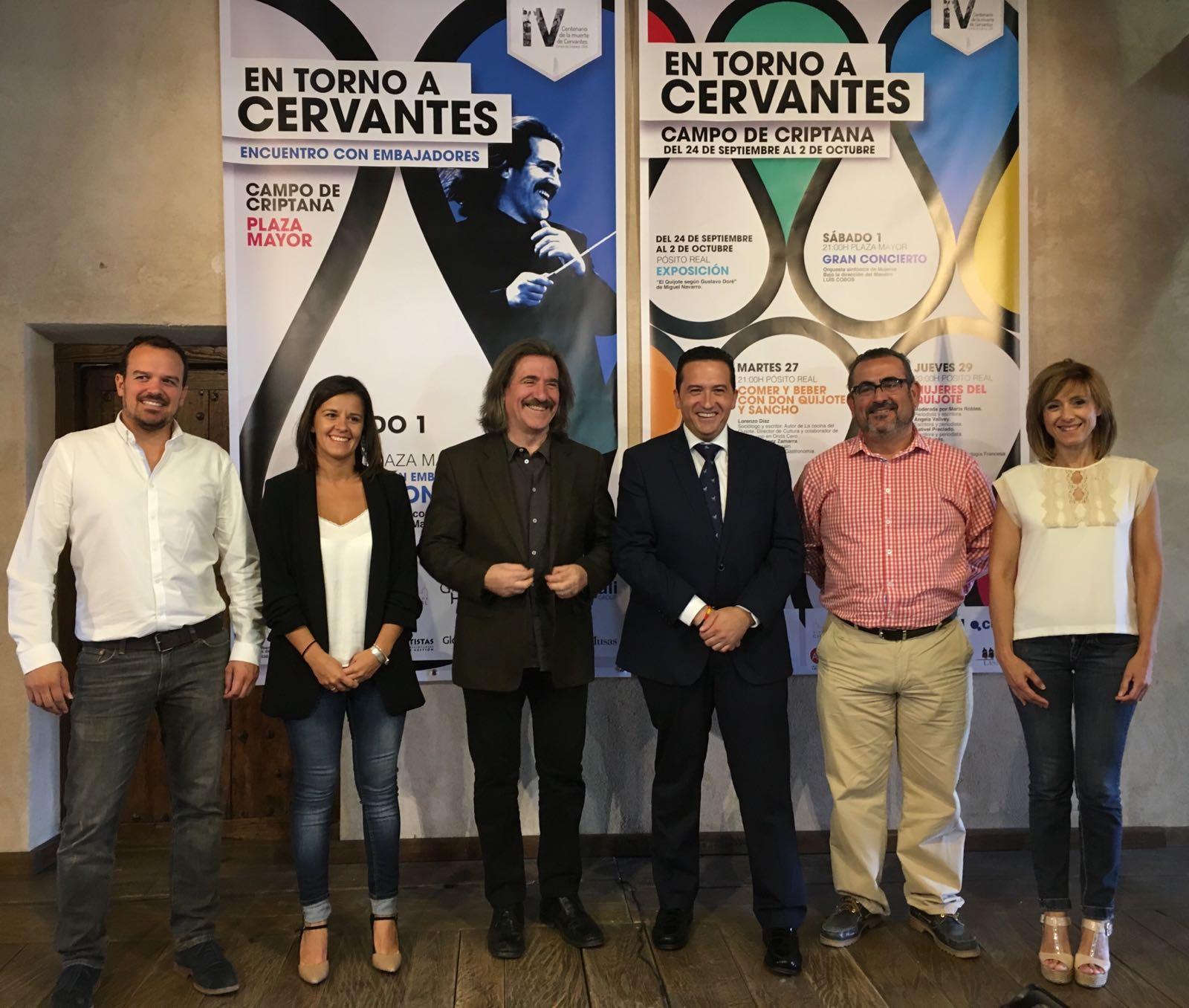 Mujer, Campo de Criptana y Cervantes protagonizan los actos de clausura del IV Centenario