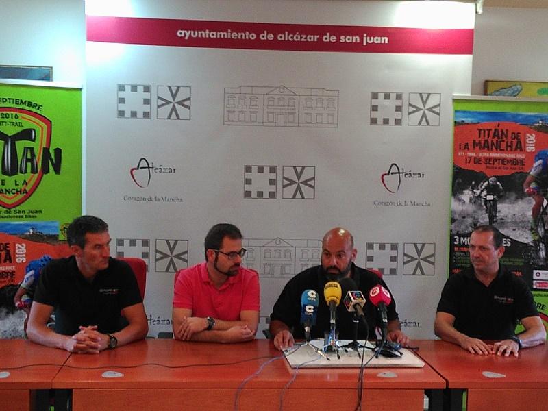Más de setecientos ciclistas participarán en la prueba de BTT La Titán de La Mancha