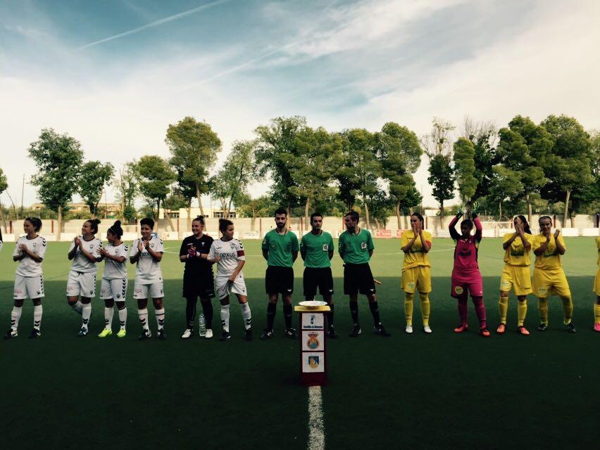 El campo municipal de fútbol de Alcázar vivió la final de la Copa Cervantes de Fútbol Femenino