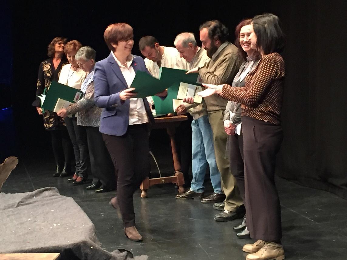 Asunción Calonge Reíllo ganadora del V Certamen Literario de Cartas de Sancho Panza a Teresa Panza