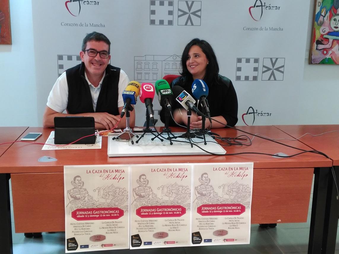 """Presentadas en Alcázar las Jornadas Gastronómicas """"La Caza en la mesa del Hidalgo"""" que ofrecerá un plato elaborado con carne de caza"""