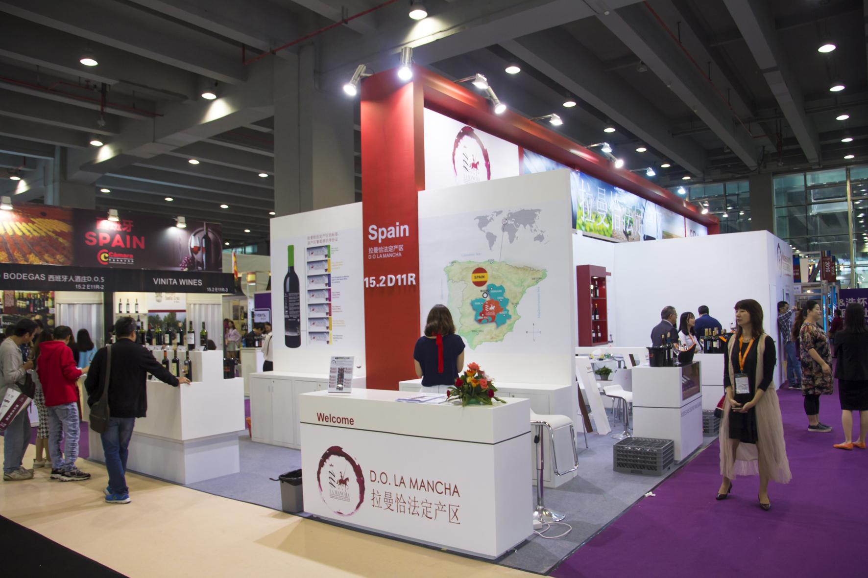 Los vinos do la mancha consolidan su posici n en el for Oficina consumidor getafe