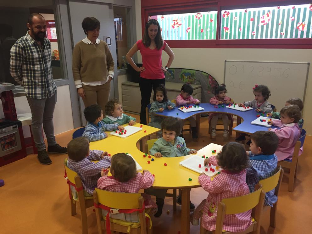 Visita a la escuela infantil 'El Tobogán' de Alcázar