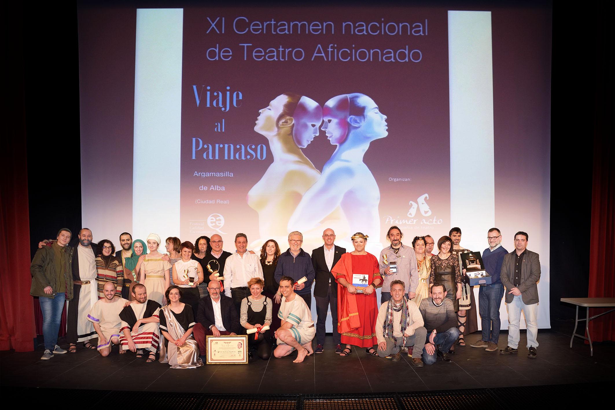 Taller de Teatro de Pinto gana el primer premio del Viaje al Parnaso en Argamasilla de Alba