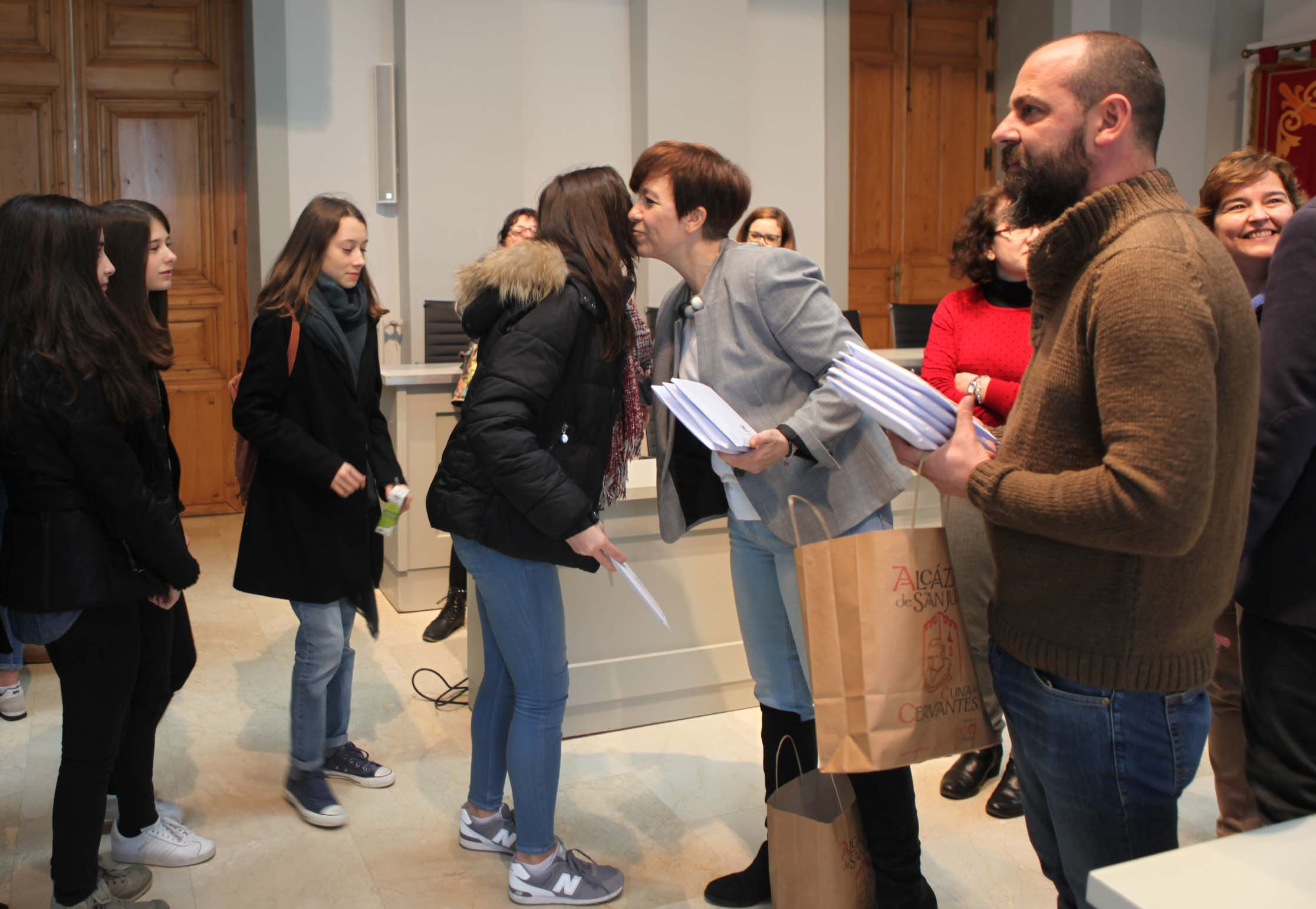 Alcázar recupera el intercambio de estudiantes con la ciudad francesa de Mâcon