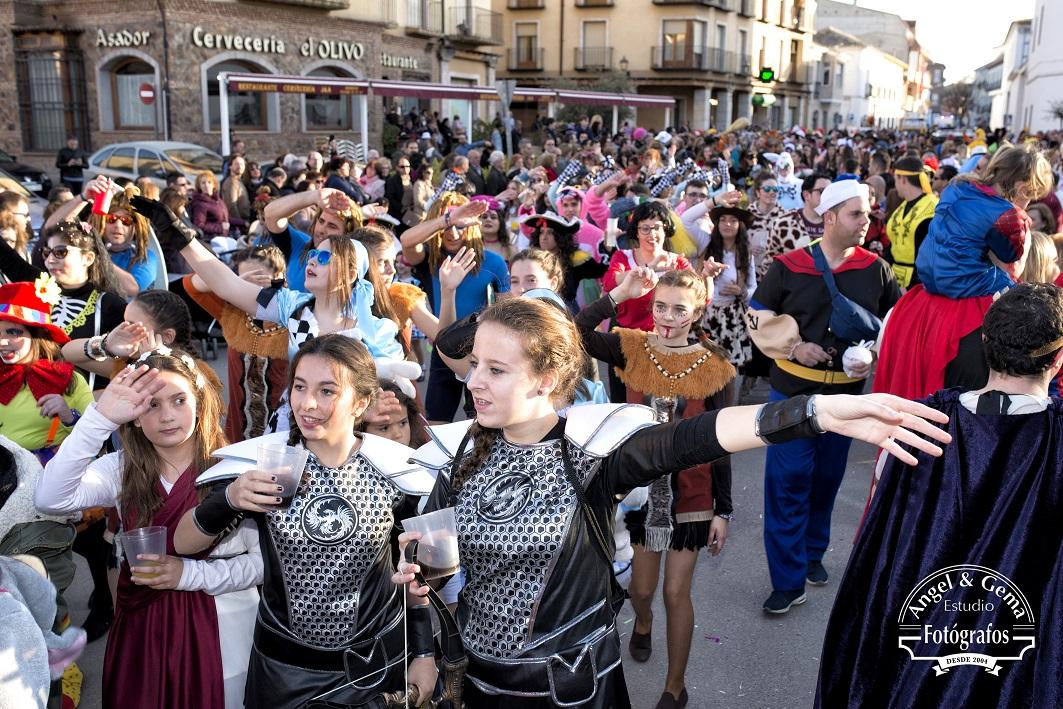Doña Sardina despide en Herencia un gran Carnaval 2017 con alta participación e implicación vecinal