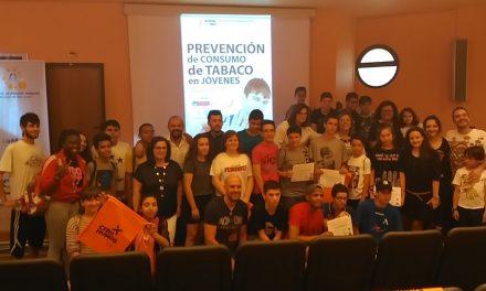Entregados en Alcázar los premios del Concurso de Videos de Prevención del consumo del Tabaco