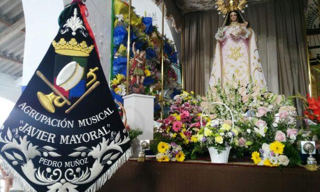 La Agrupación Javier Mayoral estrena dos marchas en la romería de la Virgen del Buen Parto