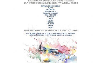 Herencia celebra este viernes la clausura del curso de la Universidad Popular