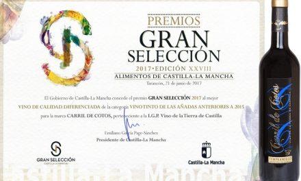 Carril de Cotos, el mejor tinto crianza de Castilla-La Mancha según los Premios Gran Selección