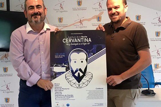 Campo de Criptana se sumerge en el siglo XVI en su particular 'Aventura de la Noche Cervantina'