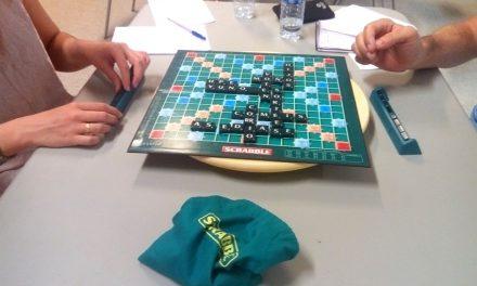 Primer encuentro de jugadores de Scrabble en Argamasilla de Alba
