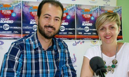 El Sunset Festival traerá a Socuéllamos a siete de los mejores DJ y cantantes españoles con Danny Romero como cabeza de cartel