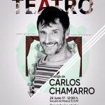 El Ayuntamiento de Campo de Criptana organiza este sábado una Master Class de Teatro de la mano del actor Carlos Chamarro