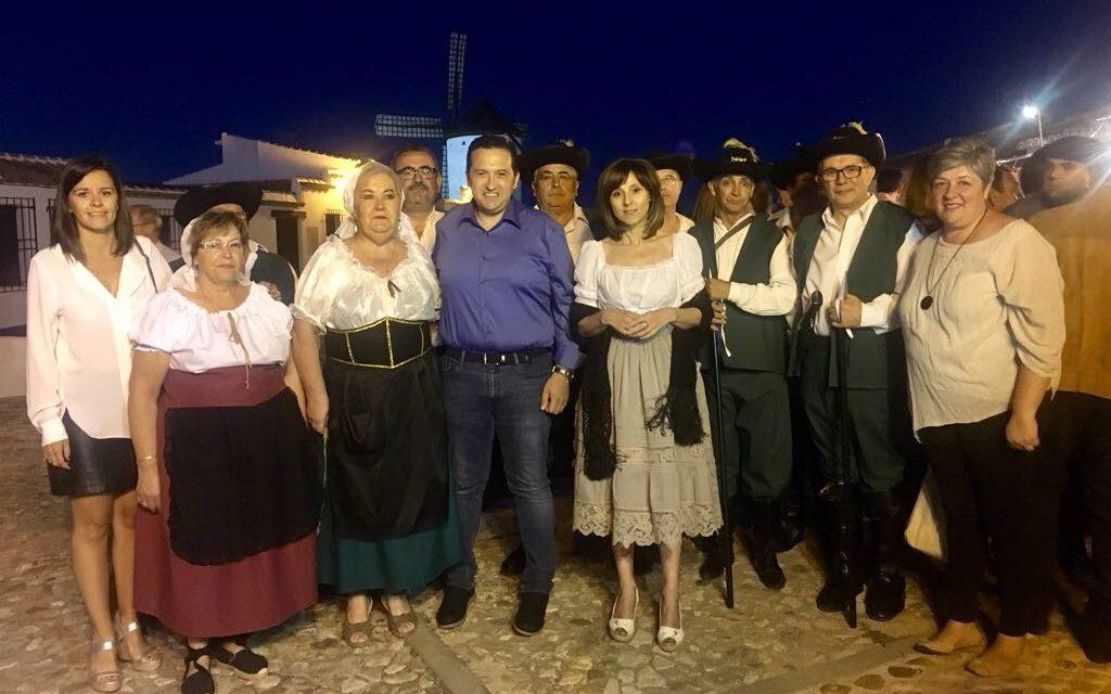 Lucas-Torres reivindica el valor histórico y cultural de los Molinos en la Aventura de la Noche Cervantina