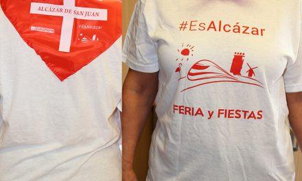 Camiseta y pañuelo oficial de la Feria y Fiestas 2017 de Alcázar de San Juan