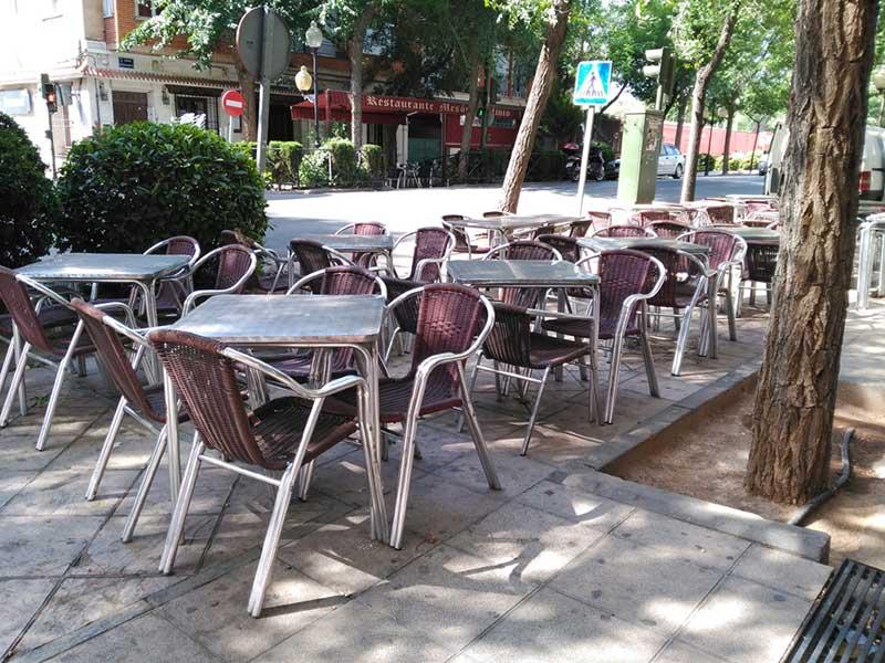 Los establecimientos hosteleros podrán ampliar sus terrazas durante la Feria y Fiestas