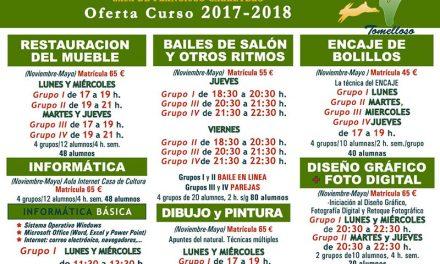 Cerrada la programación de talleres del curso 2017/18 de la Universidad Popular de Tomelloso