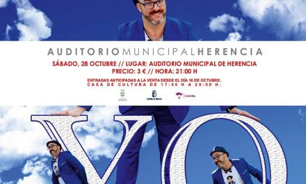 «Yo, antología de seres perfectamente imperfectos» un monólogo de humor cotidiano para comenzar la temporada en el Auditorio Municipal