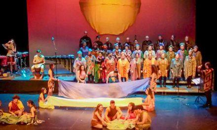 África, un musical que sorprendió al numeroso público asistente
