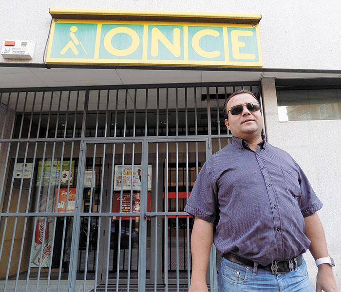 Lorenzo Villahermosa, Director de la Agencia de la ONCE en Ciudad Real