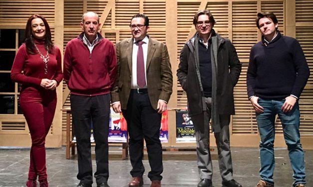 Presentación oficial del musical 'Los Miserables' que se estrena en Campo de Criptana el próximo 21 de diciembre