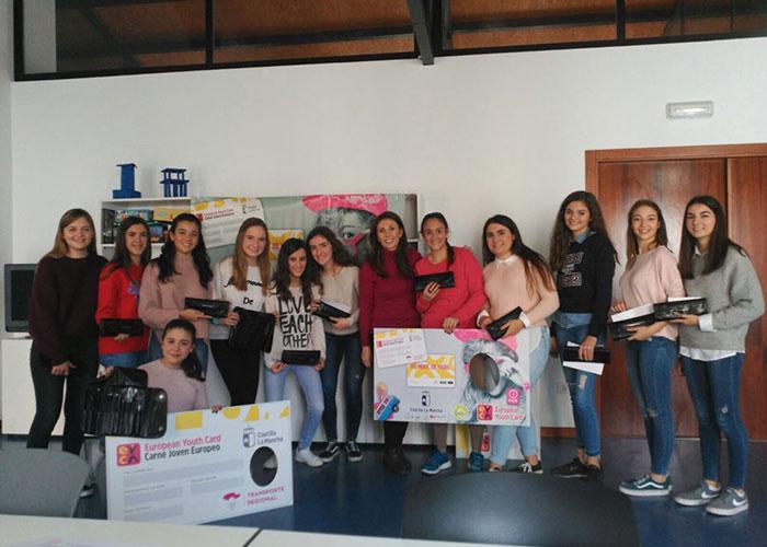Campo de Criptana promociona el carnet joven europeo con una serie de actividades dirigidas a los más jóvenes
