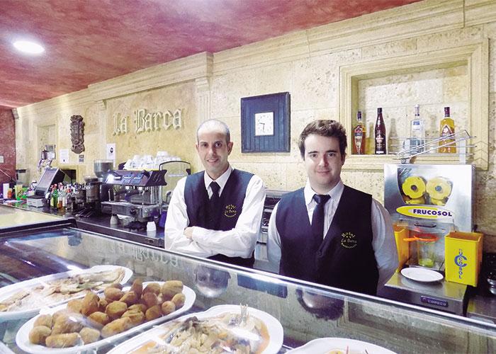 Hotel-restaurante La Barca, Pedro Muñoz