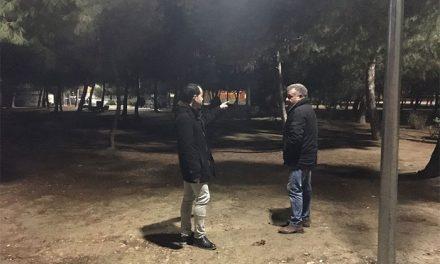 El Ayuntamiento de Herencia finaliza la iluminación del Parque de La Serna