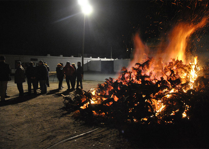 Abierto el plazo de inscripción para poder encender hogueras con motivo de San Antón